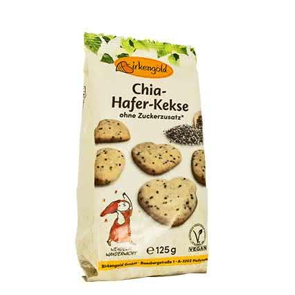 Chia-Hafer-Kekse mit Xylit 125 g