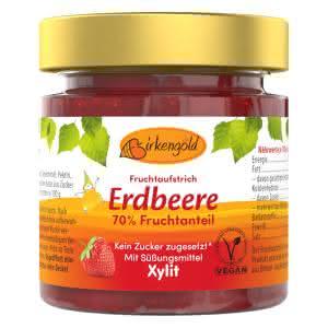 Erdbeer Marmelade mit Xylit 200 g