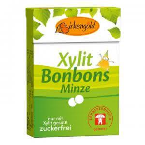 Produkt Xylit Bonbons Minze 30 g zahnfreundlich