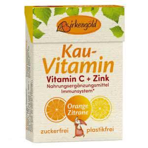 Kau-Vitamin C + Zink