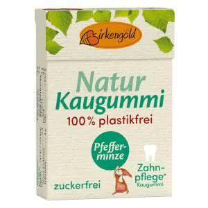 Natur Kaugummi Pfefferminze plastikfrei
