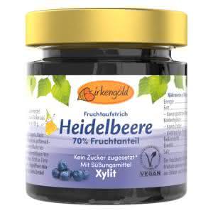 Heidelbeer Marmelade mit Xylit 200 g ohne Zucker
