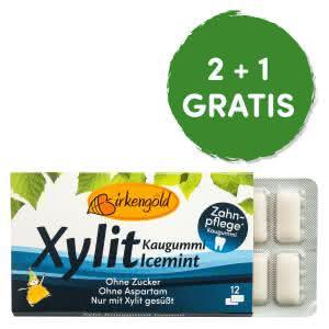 Xylit Kaugummi Icemint Birkengold
