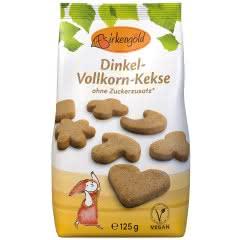 Produkt Dinkel-Vollkorn-Kekse mit Xylit 125 g ohne zugesetzten Zucker