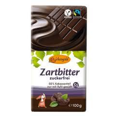 Produkt Xylit Schokolade Zartbitter 100 g zuckerfrei vegan