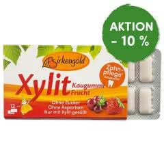 Produkt Xylit Kaugummi Frucht Birkengold