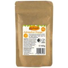 Produkt Zahnpulver Orange mit Xylit 100 g
