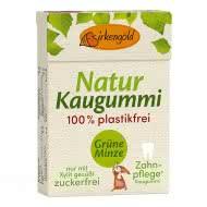 Natur Kaugummi Grüne Minze plastikfrei