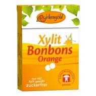 Xylit Bonbons Orange zuckerfrei