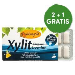 Produkt Xylit Kaugummi Icemint Birkengold